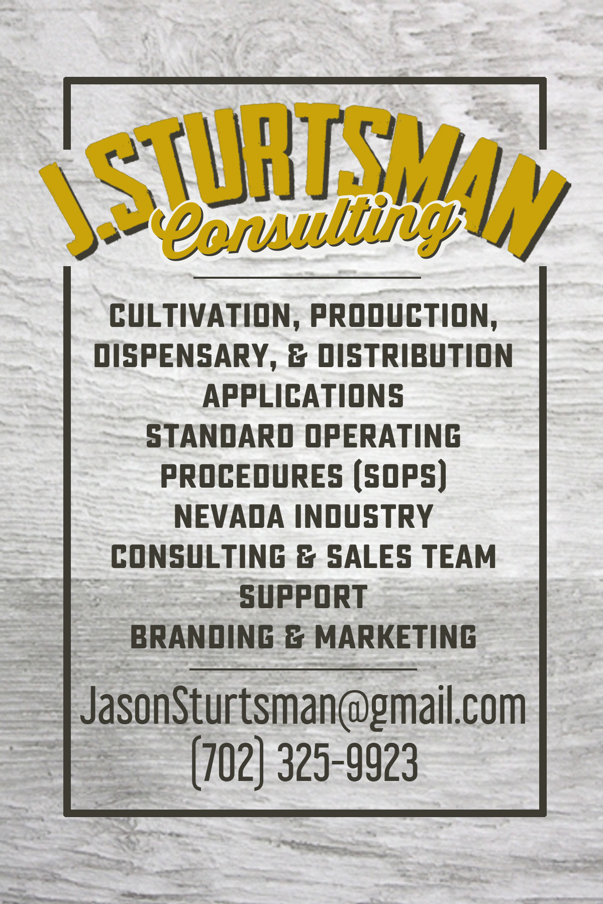 jsturtsmanConsulting